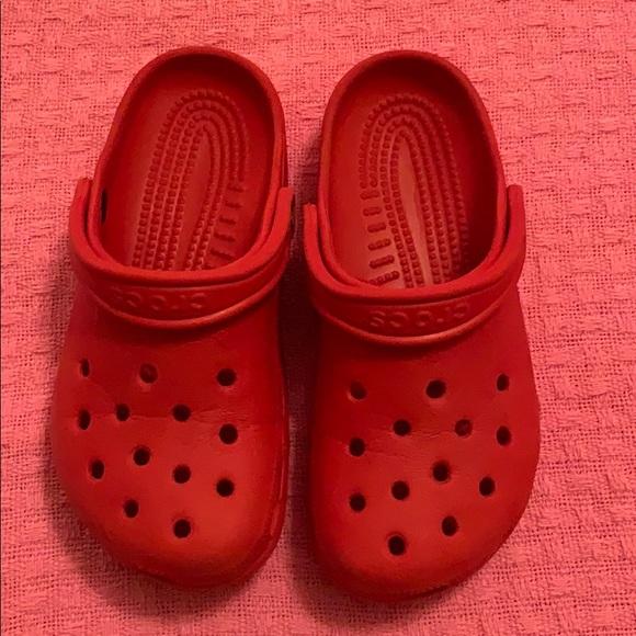 Crocs Red Pepper Classic Clog Original